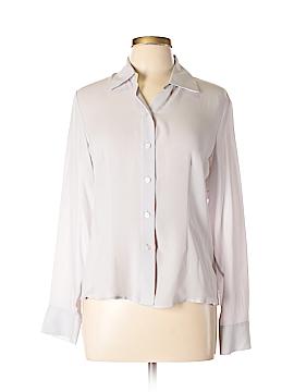 Caslon Long Sleeve Blouse Size M