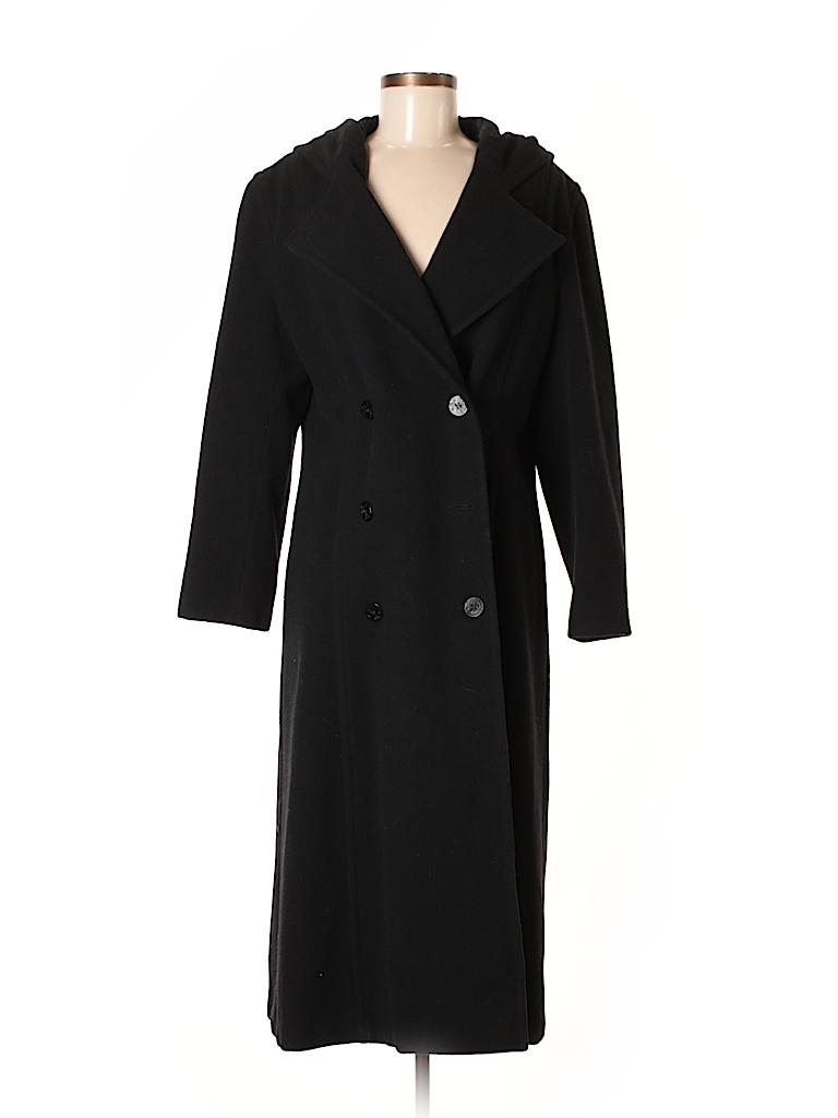 Sandro Women Wool Coat Size 8