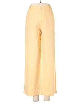 So Blue Sigrid Olsen Linen Pants Size 8