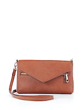 Street Level Leather Crossbody Bag One Size