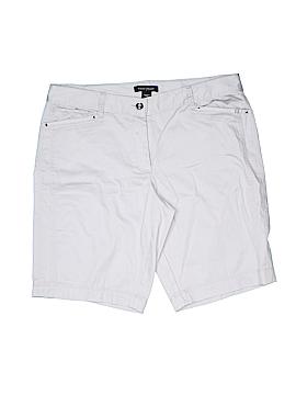 White House Black Market Khaki Shorts Size 12