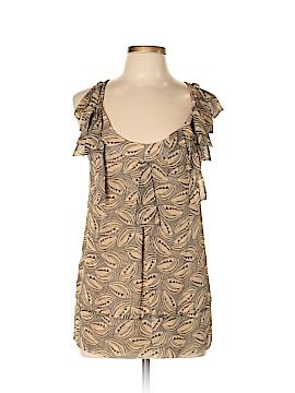 Diane von Furstenberg Sleeveless Silk Top Size 10