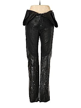 Roberto Cavalli Leather Pants Size 52
