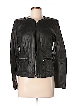 MNG Leather Jacket Size 6