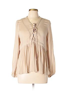 I. Joah Long Sleeve Blouse Size M
