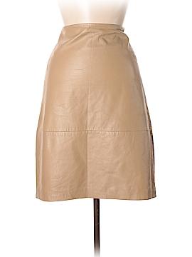 Donna Karan Signature Leather Skirt Size 6