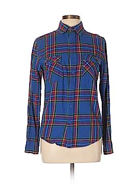 Arizona Jean Company Long Sleeve Button-Down Shirt Size S