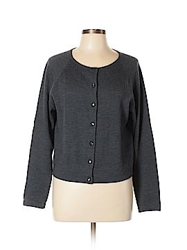 Stephanie Andrews Wool Cardigan Size XL
