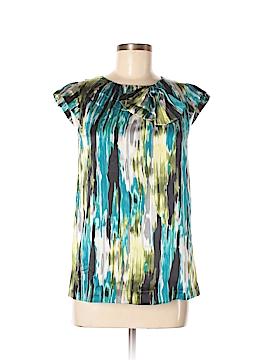 KensieGirl Short Sleeve Silk Top Size XS