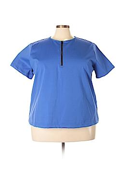Junonia Short Sleeve Blouse Size 3X (Plus)