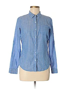 Moda International Long Sleeve Button-Down Shirt Size 6