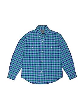 Roper Long Sleeve Button-Down Shirt Size M (Kids)