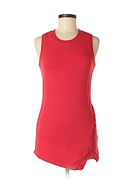Red Haute Sleeveless Blouse Size S