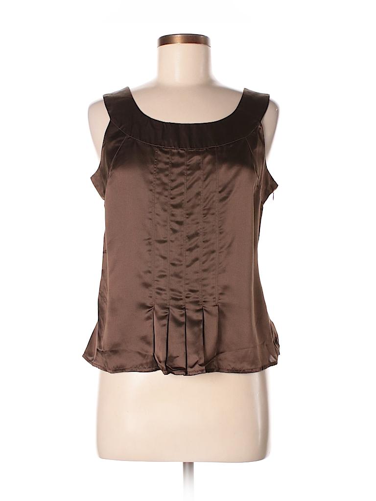 Isaac Mizrahi for Target Women Sleeveless Silk Top Size M