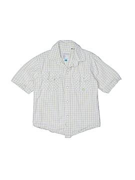Roper Short Sleeve Button-Down Shirt Size 6
