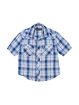 Roper Short Sleeve Button-Down Shirt Size 6 - 7