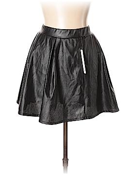 Joe B by Joe Benbasset Faux Leather Skirt Size L
