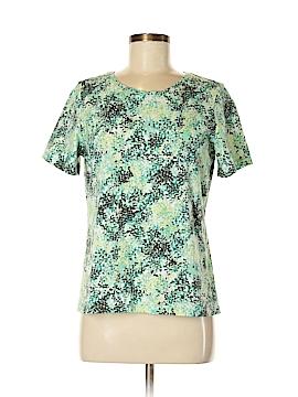 Christopher & Banks Short Sleeve T-Shirt Size L (Petite)