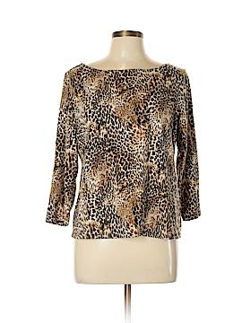 Rafaella 3/4 Sleeve T-Shirt Size L (Petite)