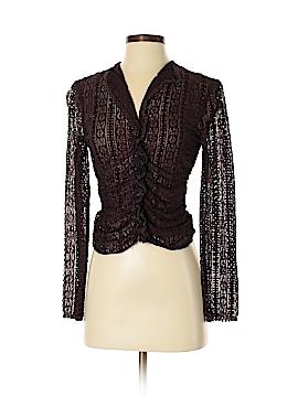 Cynthia Steffe Long Sleeve Silk Top Size M