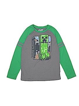 Mojang Long Sleeve T-Shirt Size 14 - 16