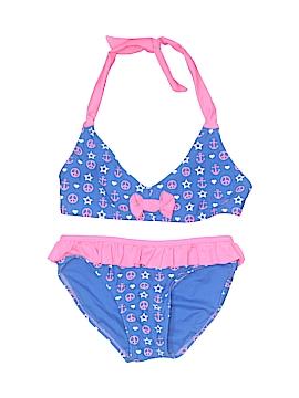 Xhilaration Two Piece Swimsuit Size 7 - 8