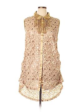 Lily Sleeveless Blouse Size XL