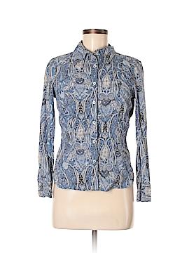 Tommy Hilfiger Long Sleeve Button-Down Shirt Size M (Petite)