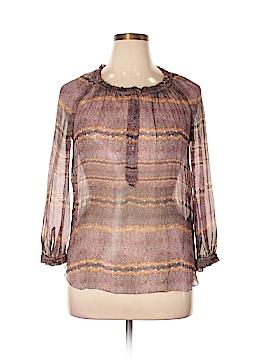 Étoile Isabel Marant Long Sleeve Silk Top Size 44 (FR)