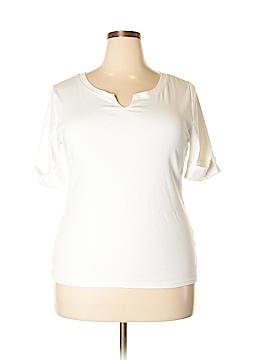 Ellen Tracy Short Sleeve T-Shirt Size XL
