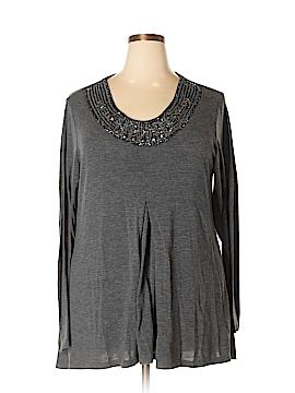 DressBarn Long Sleeve Top Size 1X (Plus)