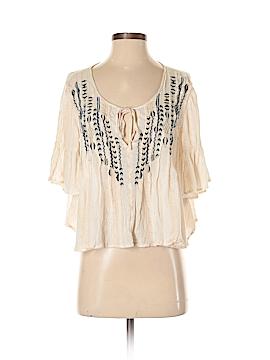 Ecote 3/4 Sleeve Blouse Size XS