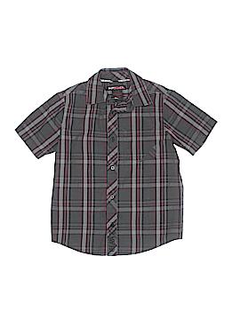 Tony Hawk Short Sleeve Button-Down Shirt Size 8