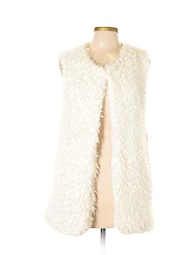 Rhapsody Faux Fur Vest Size M