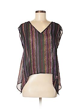 Ecote Short Sleeve Blouse Size M