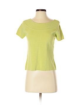Grace Elements Short Sleeve Silk Top Size S