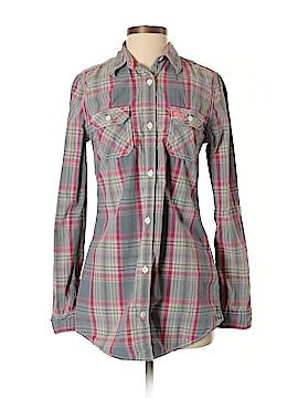 S&D Long Sleeve Button-Down Shirt Size S