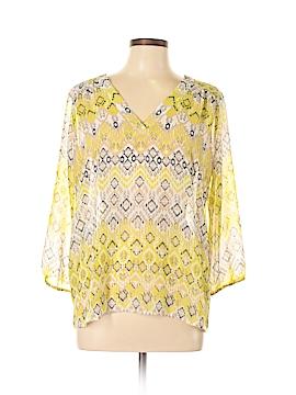 Ann Taylor LOFT Outlet 3/4 Sleeve Blouse Size M