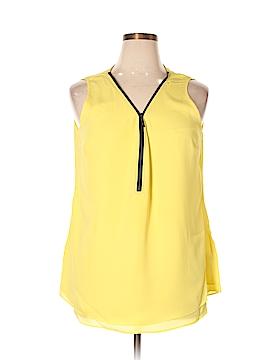 City Chic Sleeveless Blouse Size 14 Plus (XS) (Plus)
