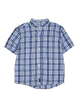Abercrombie Short Sleeve Button-Down Shirt Size L (Kids)