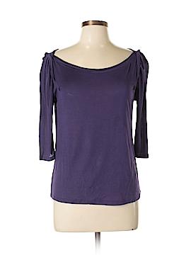 Hi-Line 3/4 Sleeve Silk Top Size M