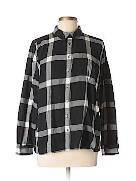 G.H. Bass & Co. Long Sleeve Button-Down Shirt Size XL