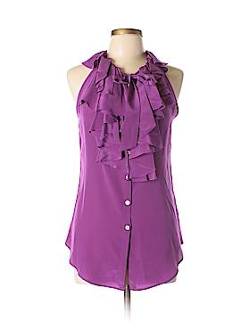 Fifteen Twenty Sleeveless Silk Top Size L