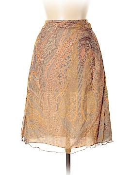 Saks Fifth Avenue Silk Skirt Size 6