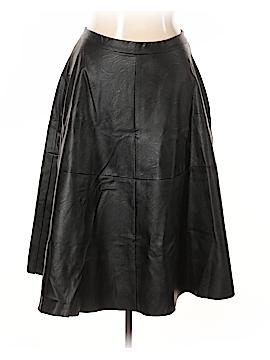 City Chic Faux Leather Skirt Size 16 Plus (S) (Plus)