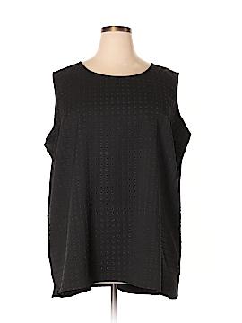 City Chic Sleeveless Blouse Size 24 Plus (XXL) (Plus)