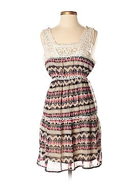 Ultra Pink Casual Dress Size L