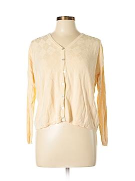 EVELYN & ARTHUR Silk Cardigan Size L