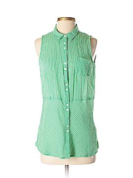 C&C California Sleeveless Button-Down Shirt Size XS