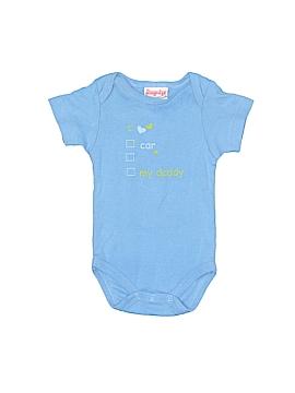 Snugabye Short Sleeve Onesie Newborn